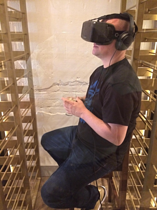Camper in 3D virtual reality