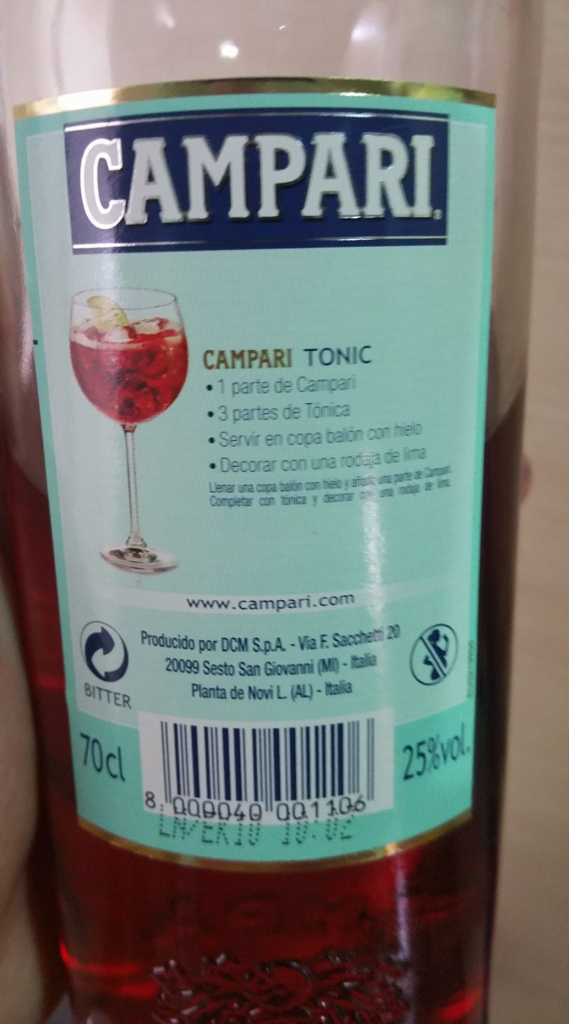 Campari is Made Differently Around the World: Cochineal