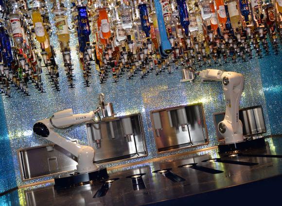 Tipsy Robot Opening 1