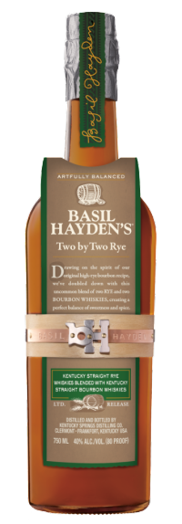 Basil Hayden's Two by Two Rye_Bottle Image