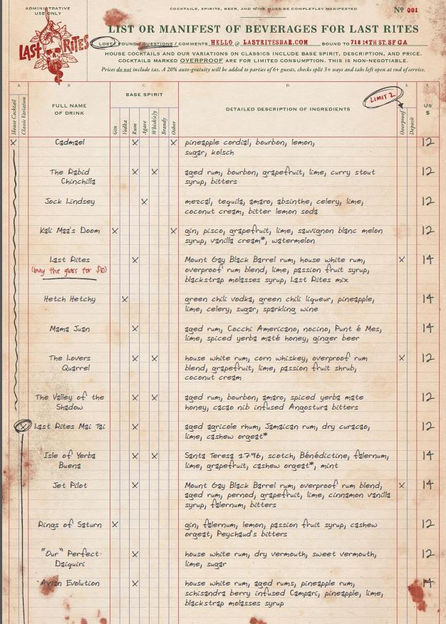 Last rites menu1