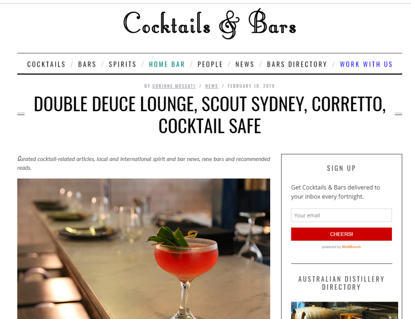 Cocktailsandbars