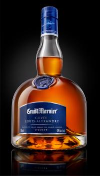 Grand Marnier - Louis Alexandre Bottle - Black Background (1)