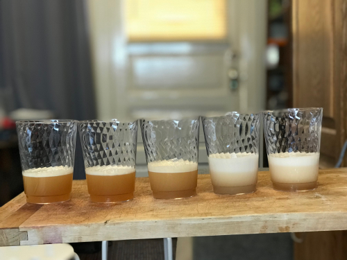 Aquafaba foam experiments round two (2)