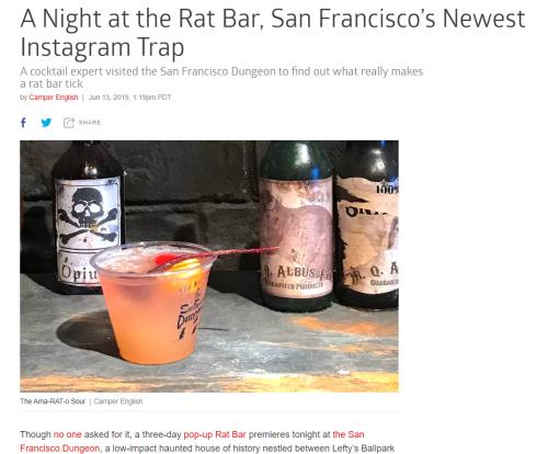 Eater rat bar story 06132019