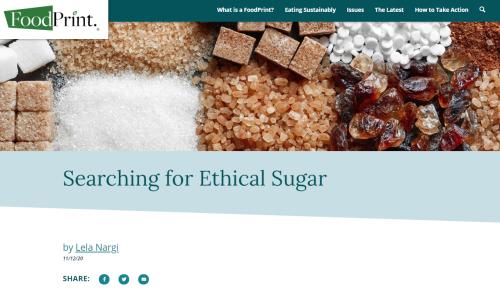Ethical sugar
